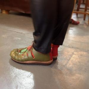 靴出来ました